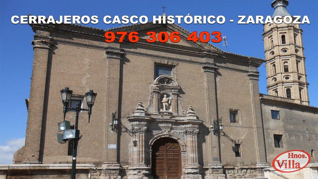 Cerrajeros en el Casco Histórico de Zaragoza