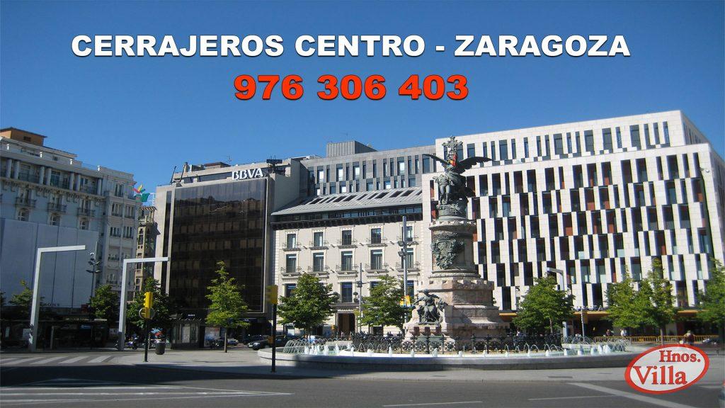 Cerrajeros en el Centro de Zaragoza