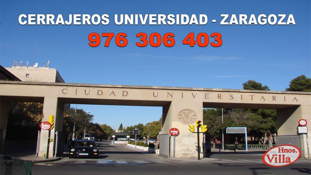 Cerrajeros Universidad Zaragoza