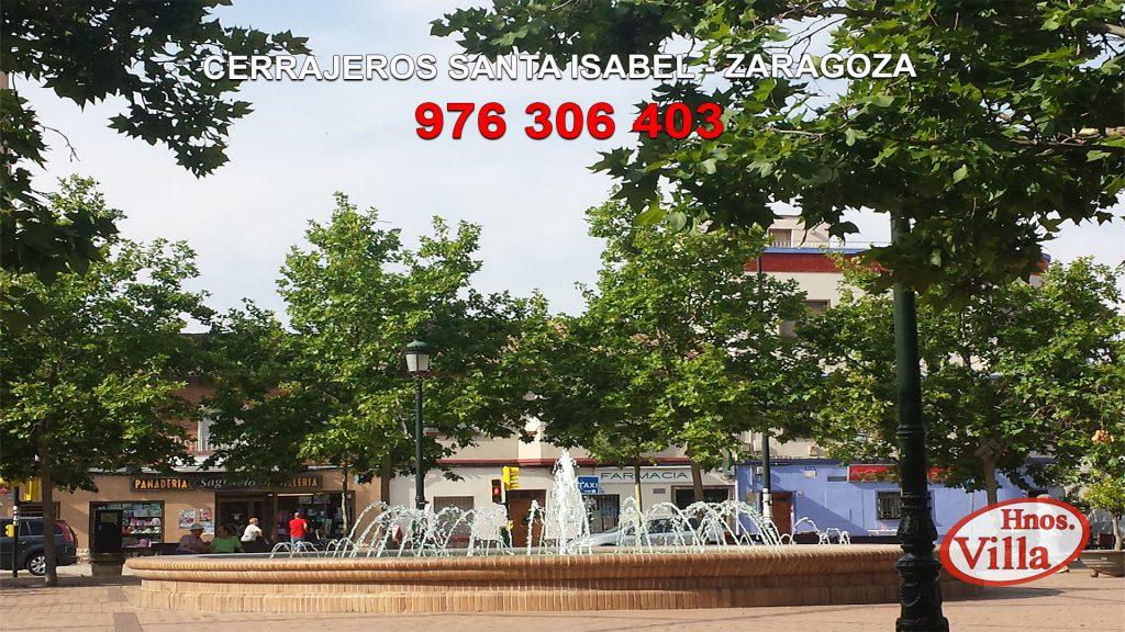 Cerrajeros en Santa Isabel Zaragoza