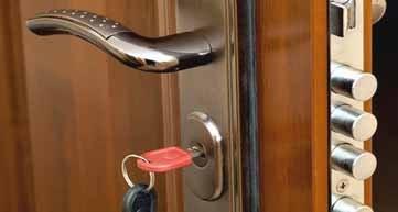 Cerradura de seguridad puerta blindada